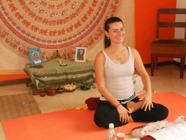 Alessandra Destro Pizigatti, é aluna do Lama Samten há quase 20 anos
