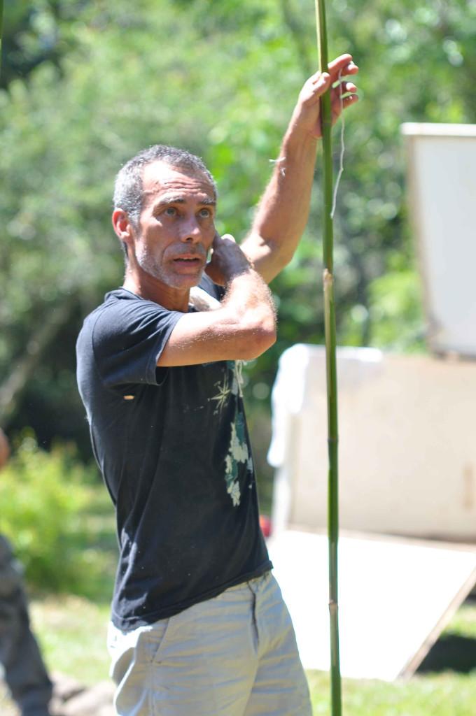 Aleto Silva, focalizador do Temazcal