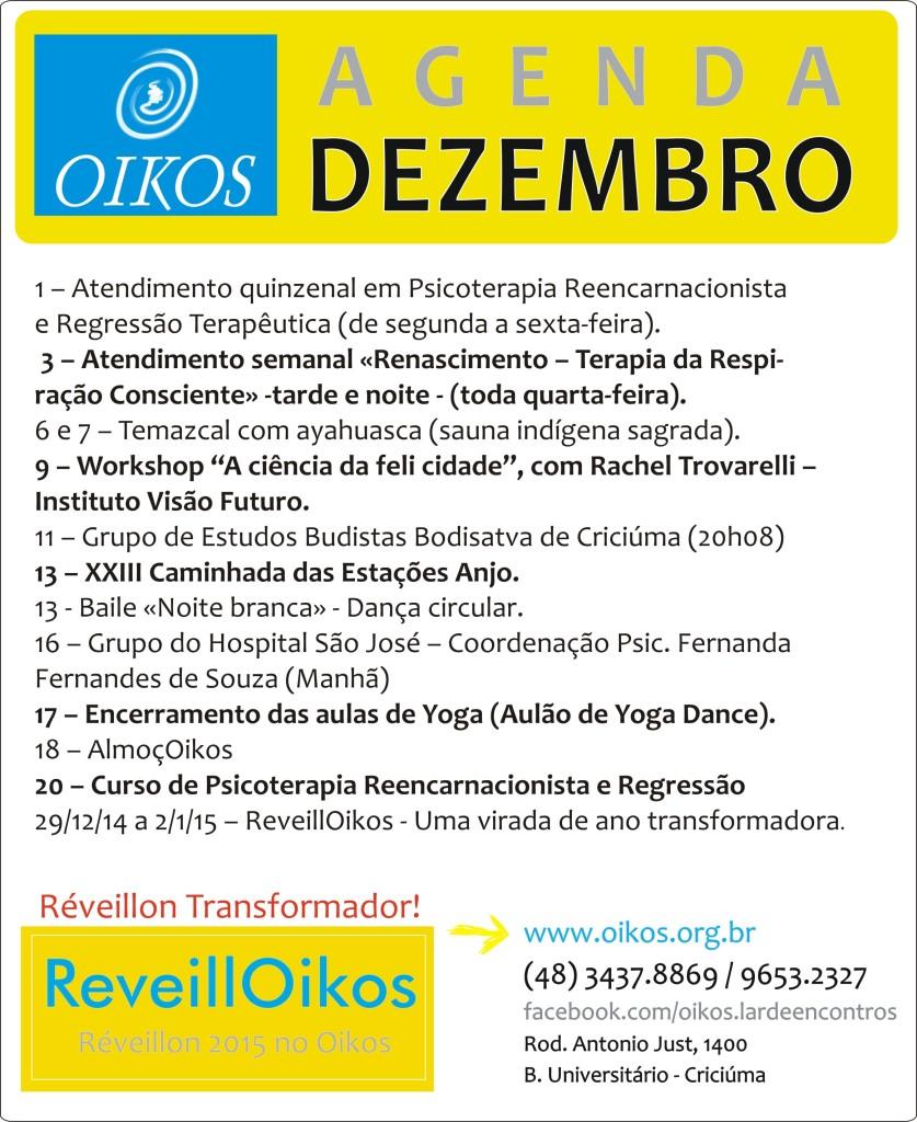 Conheça o Oikos, Divulgue o Oikos, viva o Oikos!