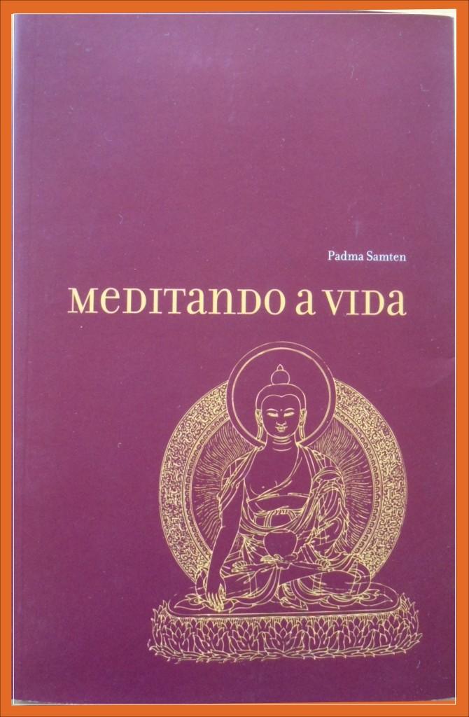 """O livro """"Meditando a vida"""", do Lama Padma Samten é a bibliografia referência neste momento inicial do grupo; adquira o livro no Oikos."""
